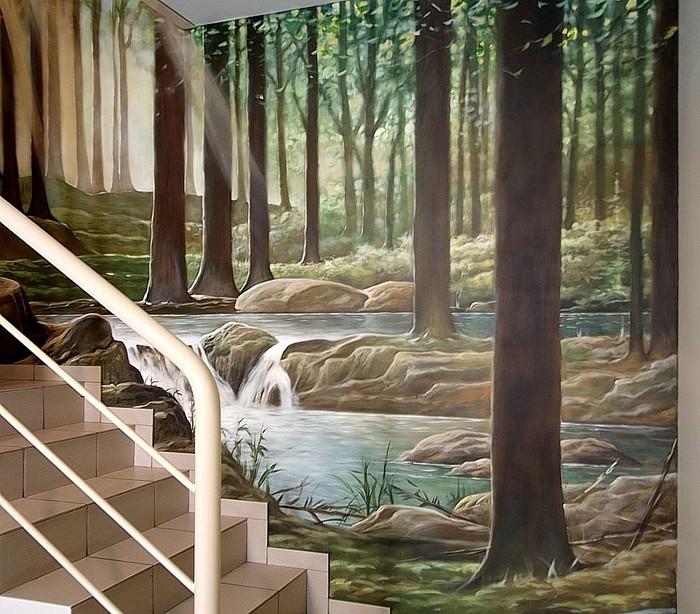 Роспись стен. Роспись-обманка от бельгийского художника VAN HOEF 97653716_25