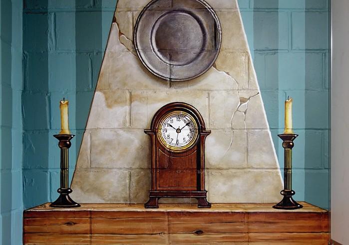 Роспись стен. Роспись-обманка от бельгийского художника VAN HOEF 97653718_27
