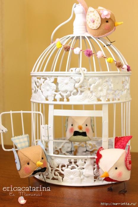 Идеи для дома 100196496_ptichki_iz_fetra__6_