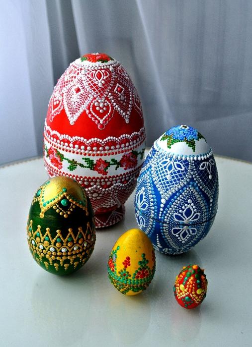 Идеи Декора яиц к Пасхе 100061780_DSC_0117
