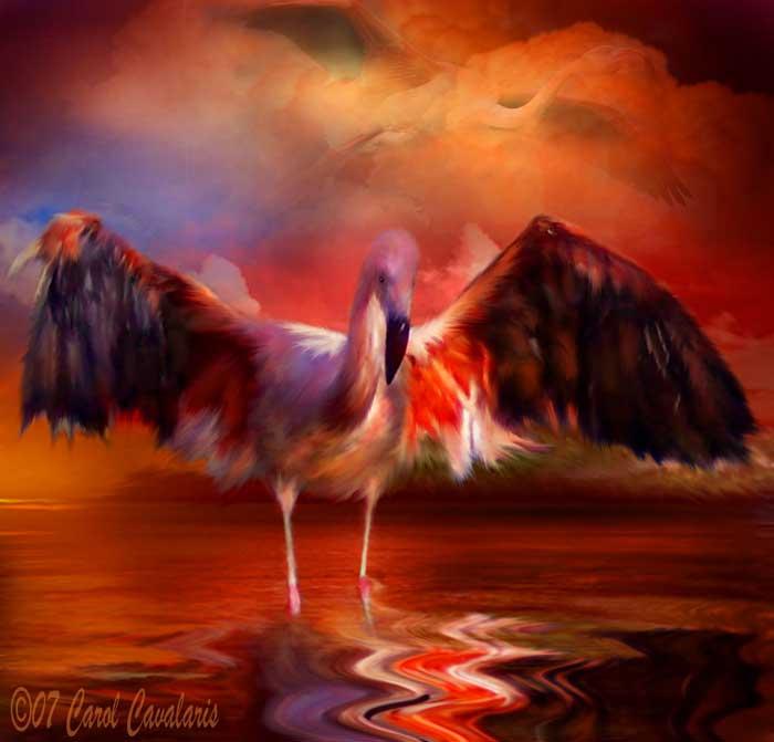 37_FlamingoSunset_Pic (700x671, 256Kb)