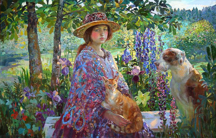 18-Olga Suvorova, friends (700x447, 502Kb)