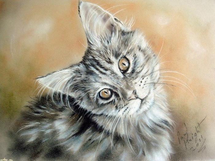 48f79f39c6e2e5554ff96f785c3e999e--watercolor-paintings-cat-paintings (700x525, 392Kb)