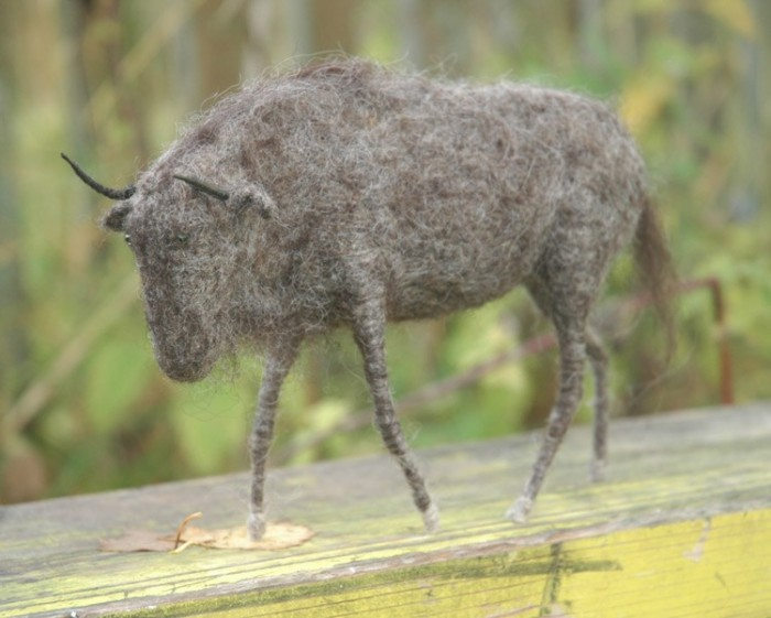Звери by Victor Dubrovsky 1586682_dubrovsky_felted_gnu26