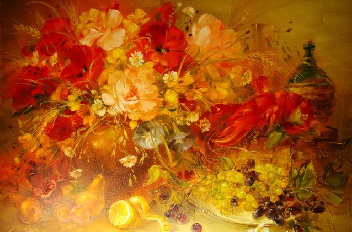 Цветотерапия в живописи... F_14647885