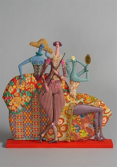 Текстильные куклы Татьяны Овчинниковой 3363854_p_f