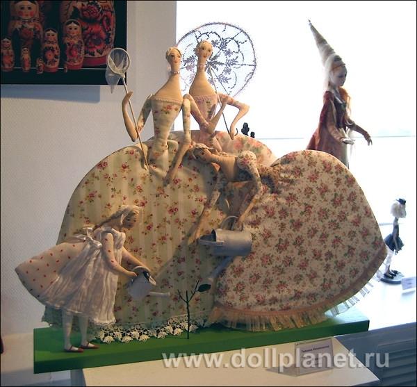Текстильные куклы Т.Овчинниковой 3742652_ovchinikova-sad