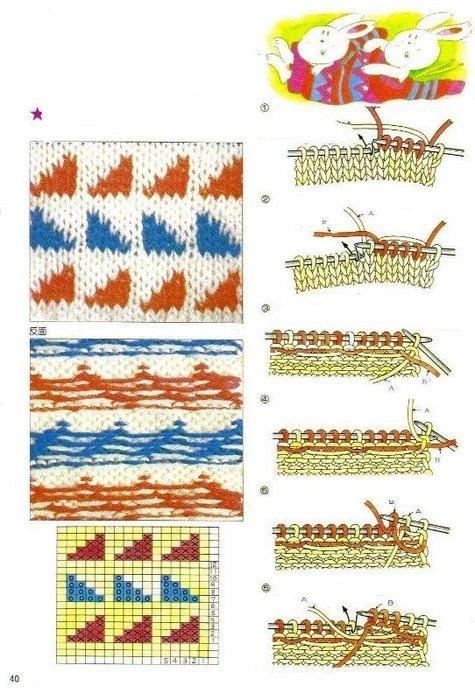 Учебник по вязанию крючком и спицами в картинках 2438920_40