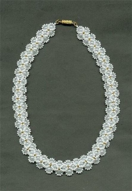 объемные браслеты из бисера и колье... 2777704_475602f1902d