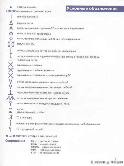 Книга: Тунисское вязание. Техника, узоры, модели. Т.П. Абизяева. 2832358_aa_0004