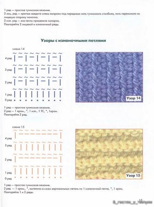 Книга: Тунисское вязание. Техника, узоры, модели. Т.П. Абизяева. 2832368_aa_0014