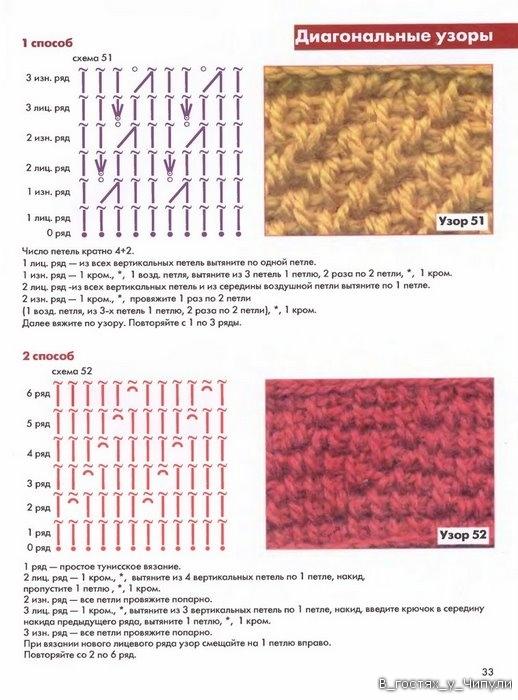 Книга: Тунисское вязание. Техника, узоры, модели. Т.П. Абизяева. 2832386_aa_0032