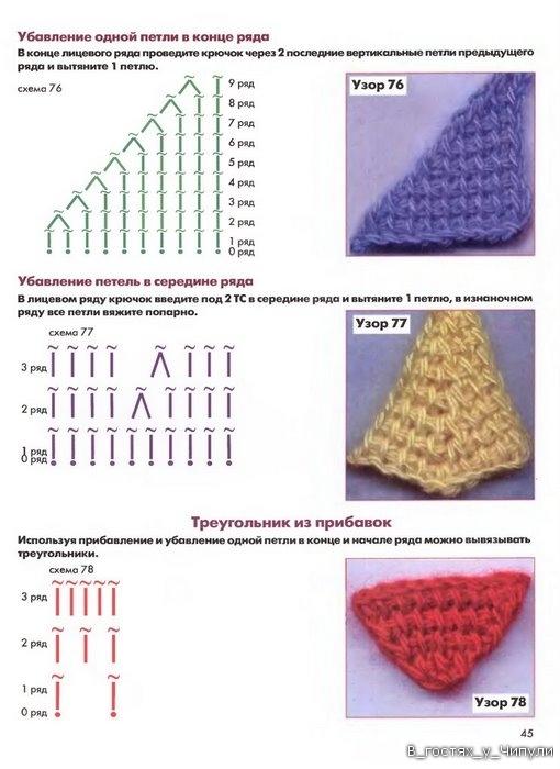 Книга: Тунисское вязание. Техника, узоры, модели. Т.П. Абизяева. 2832398_aa_0044