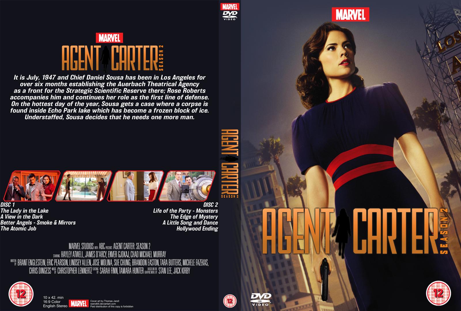 Agent Carter (2015–2016)  Agent_carter___season_2_dvd_cover_by_wario64i-da5xc2j