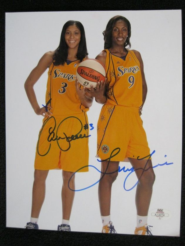 ¿Cuánto mide Candace Parker? - Real height 115149358_candace-parker3-lisa-leslie-9-la-sparks-dual-autographed