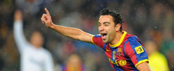 Recordemos, [[Barça 5-0 Madrid]] Xavi-celebra-el-primer-gol-del_54078187821_54115221155_600_244