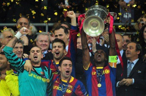 صور اضافية عن لقاء برشلونة ضد المان بعد المباراة  Barcelona-s-French-defender-Er_54162323240_54115221154_600_396