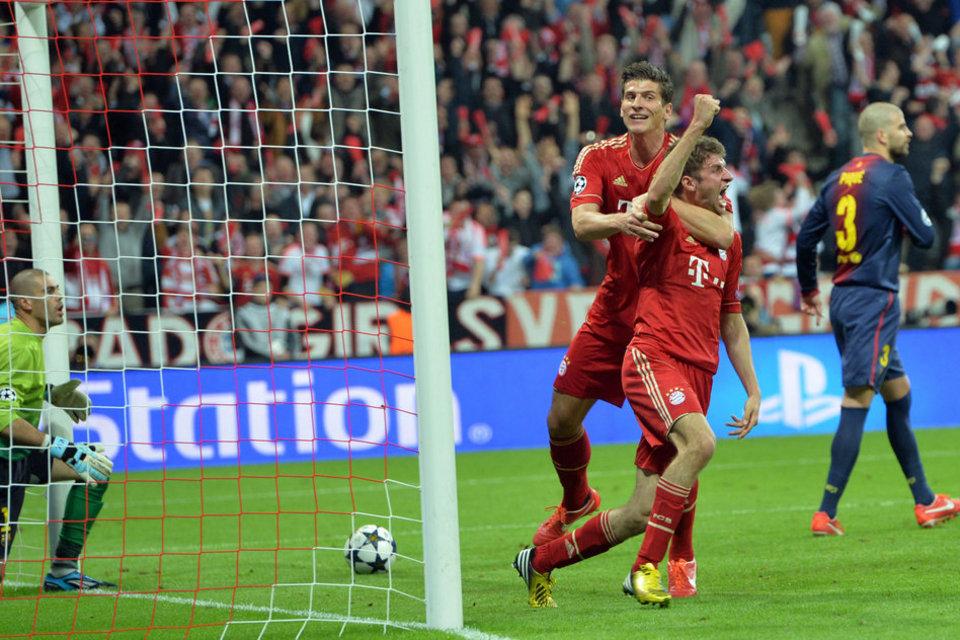 بالصور مباراة بايرن ميونيخ - برشلونة 4-0 (23-04-2013) Bayern-s-Thomas-Mueller-second_54371479924_54115221152_960_640