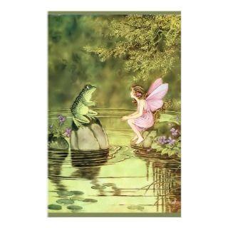 EL MUNDO DE LOS PEQUEÑOS-Octubre 160672623_thank-you-card-with-fairy-and-frog-custom-stationery