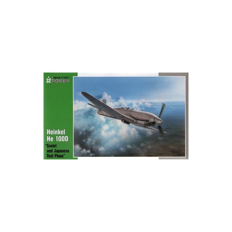 Heinkel He 100D en duo, 1:48 HiPM & 1:72 MPM Special-hobby-32045-heinkel-he-100d-soviet-et-japanese-test-plane-