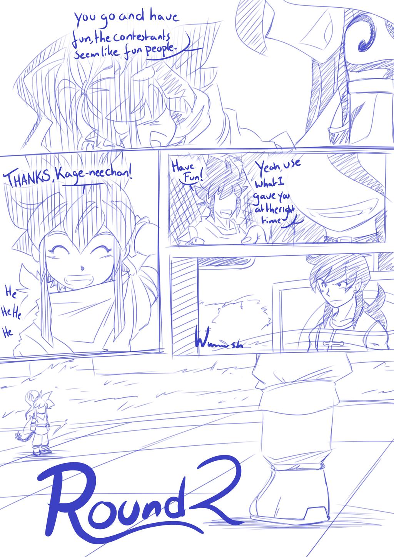 Rage(VX)'s Tekenachterbak - Pagina 12 Tenkaichi_budokai___taki_vs_jiuniang_page_1_by_ragevx-d8u7vl7