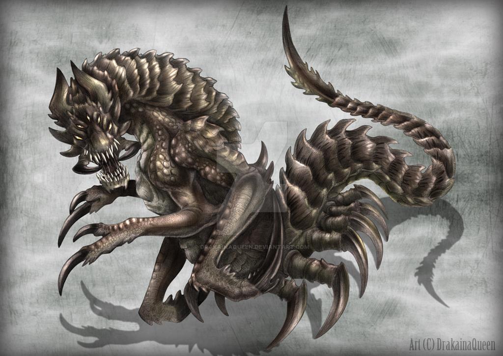 The Hunt (2*XP) (Blessed / Invite) Alien_monster_design_by_drakainaqueen-d5gwm06