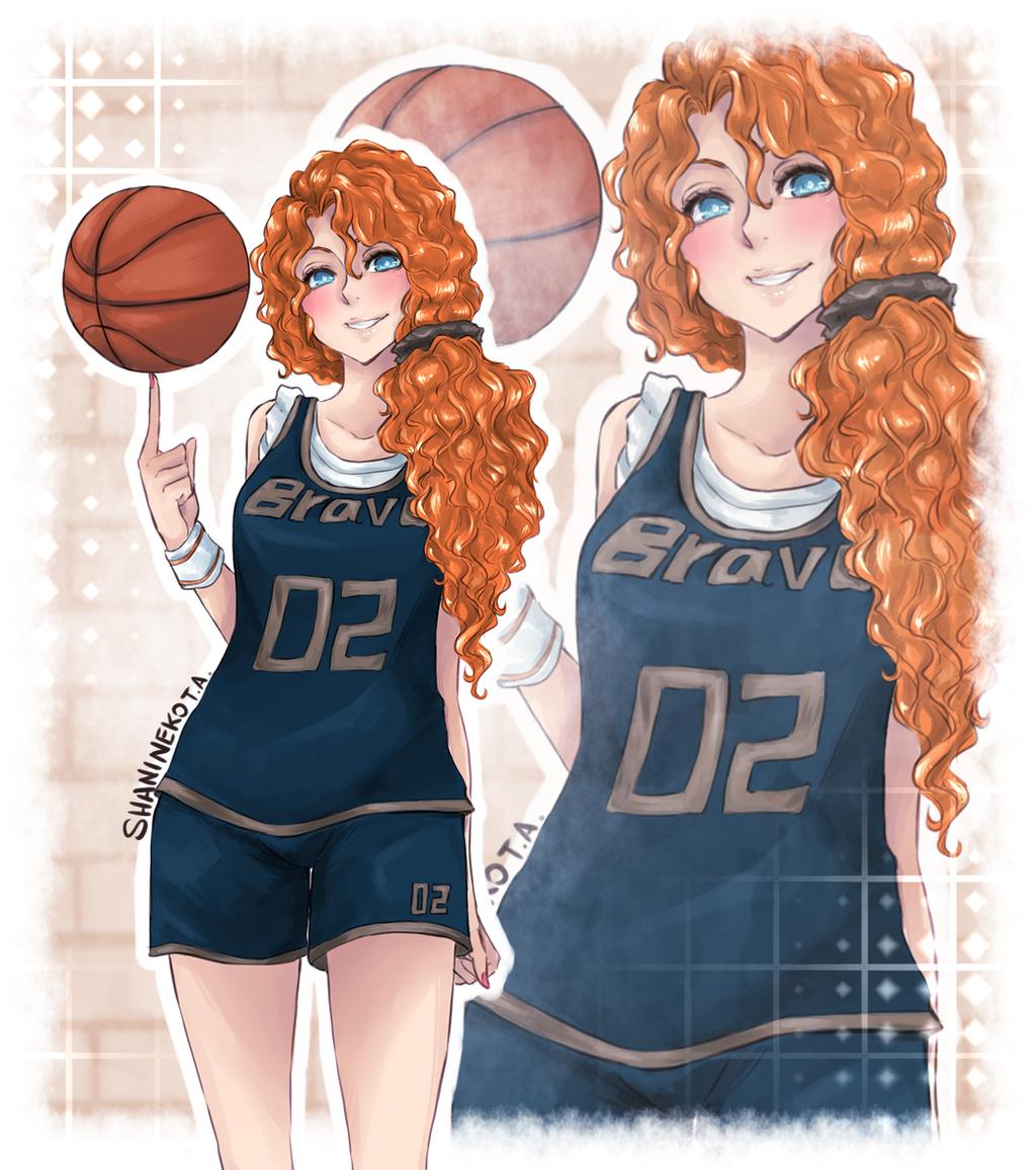 Nya Flynn Merida_sport_by_shanineko-d7fn0zw