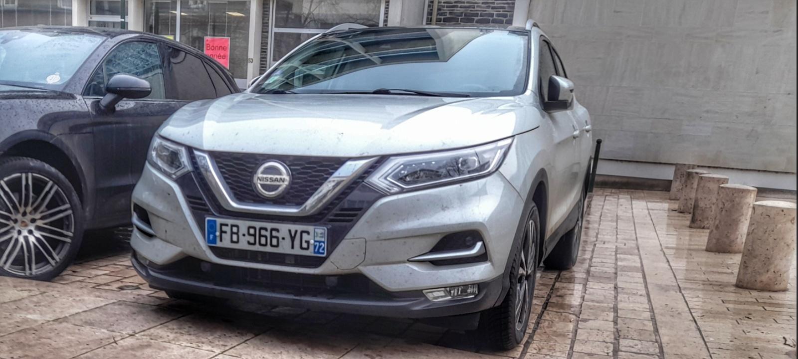 Nissan Qashqai 16024828