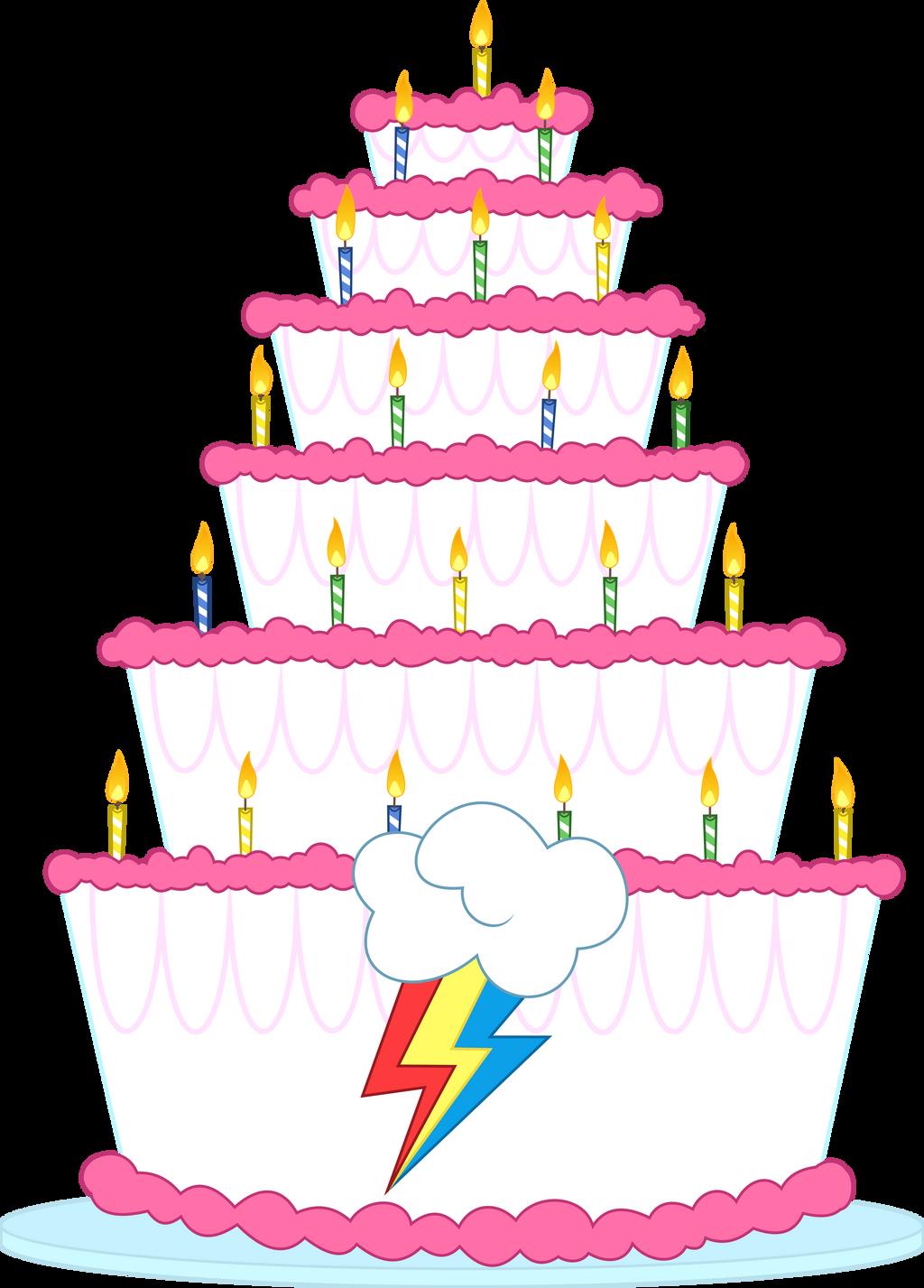 ¡Feliz Cumpleaños! Rainbow_dash_s_birthday_cake_by_dasprid-d74qg8l