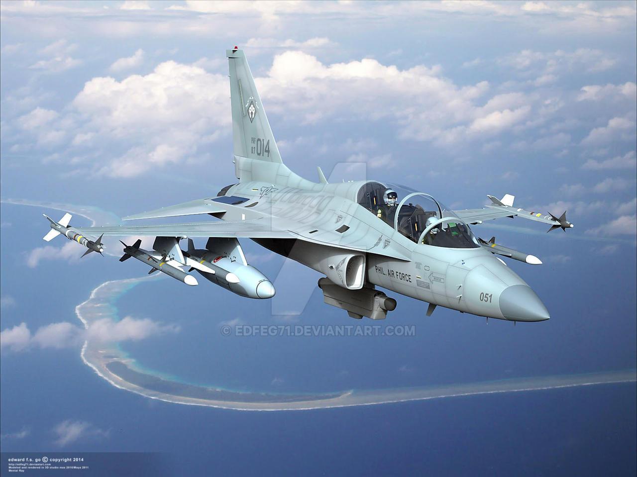 الوداع المؤجل - A-10 Thunderbolt II - صفحة 2 Fa_50_phaf_lonewolfe_by_edfeg71-d7pw1nx