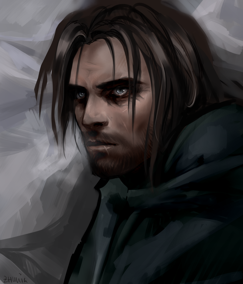 Beowulf the Ebony Warrior Vilkas_by_isolenta-d7feyb1