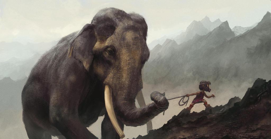 [bank] Les artistes que vous adorez - Page 8 Elephant_walker_by_bmacsmith-d78l0y0