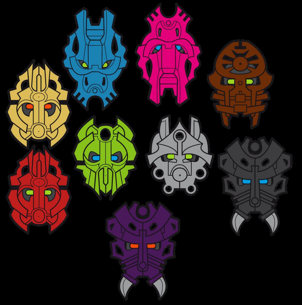 Dibujos de Fanbyl Custom_kanohi___bionicle_masks_by_jhepty-d8lqav6