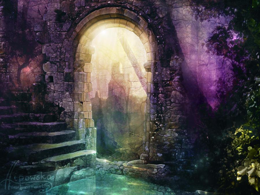 Concours : Créez votre propre couverture de roman !  - Page 4 Enchanted_ruins_by_streamline69-d3exvrk