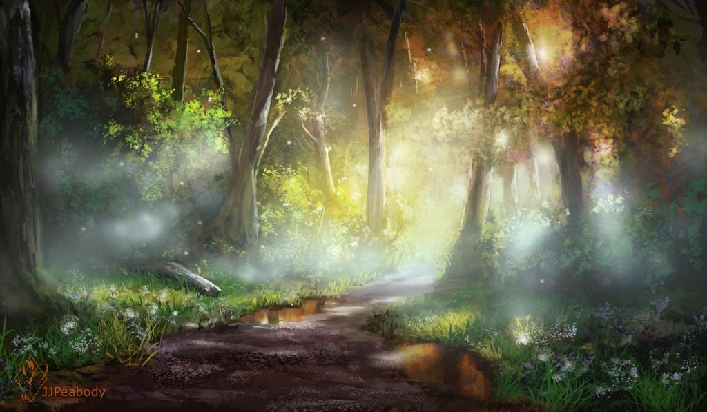 Lysa Vastalan ou les cieux embrasés Early_morning_forest_path_by_jjpeabody-d8yz2wb