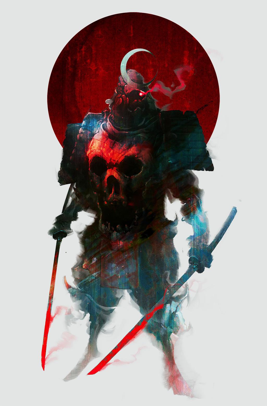 Fate/Destiny Order Powerful Glory Of The Immortal Gods Of Unbreakable Hope - Página 2 Niten_ichiryu_bishamon_by_cobaltplasma-d84dtx8