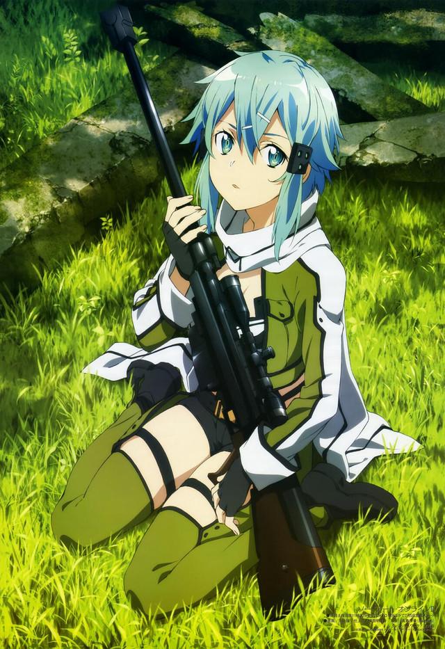 Sinon Snipping Ad for Sword Art Online 2 5d4ac46a3c4398e7c922fb4428bb70b61402586303_full