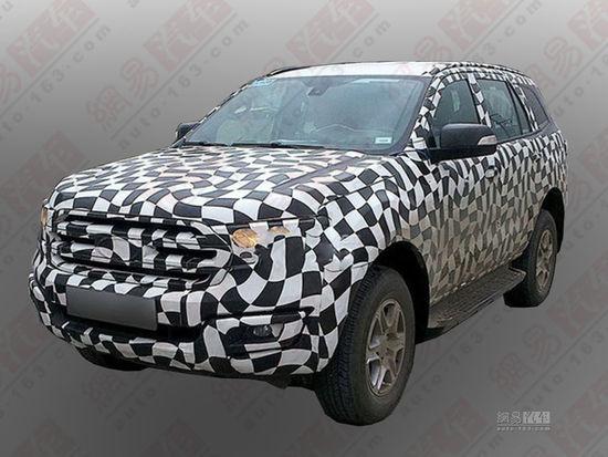 2015 - [Ford] Everest / Ranger restylé 2014061522545815350_550