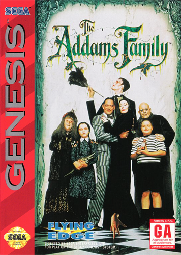 The Official Sega Genesis Gaming Thread - Page 2 Addams-family-the-usa-europe