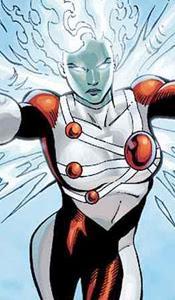 1. Super-héros Firehawk