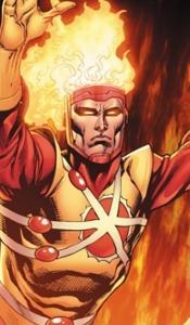1. Super-héros Firestorm
