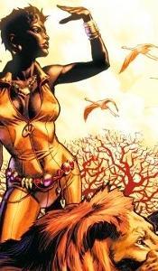 1. Super-héros Vixen