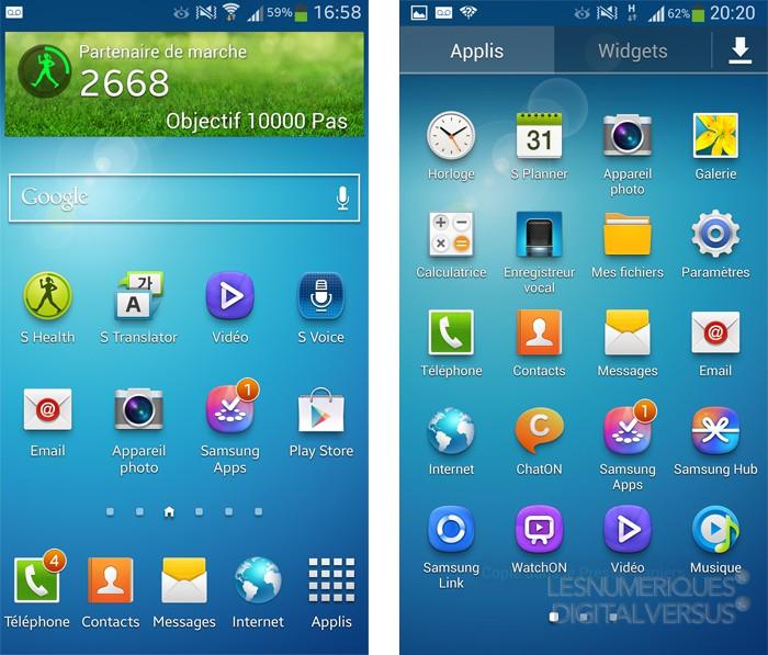 L'interface utilisateur TouchWiz de Samsung : un grand changement en préparation Gs4-os-intro