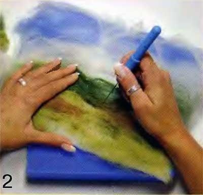 Мягкие картины своими руками. Валяние 23932875_hud2