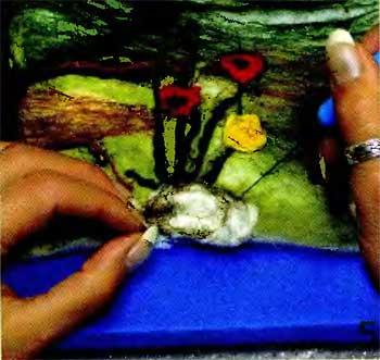Мягкие картины своими руками. Валяние 23933350_rel5