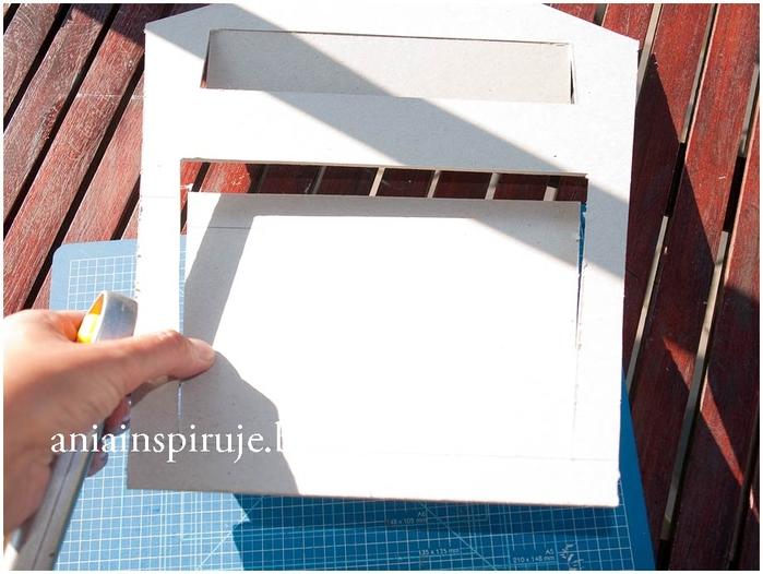 Креативный Почтовый ящик из картона 103095881_Pochtovuyy_yaschik_iz_kartona_Masterklass__11_