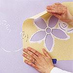 Своими руками 46301759_stencil_wall4