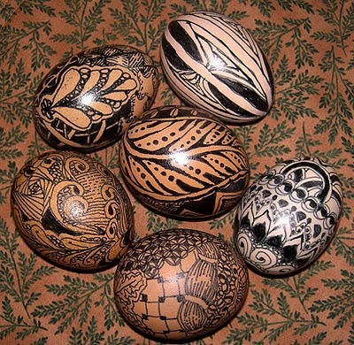 Zentangle-Eggs (400x390, 181Kb)