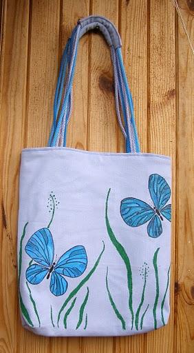 Сумки 55317691_1266422680_blue_butterfly01