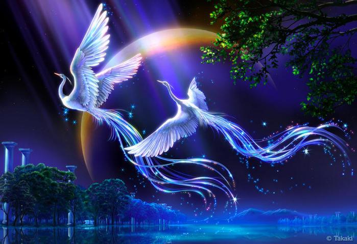 гадалка -  Стихия Воздух. Стихийная магия. Обряды. Ритуалы. Путь Ведьмы Воздуха 55429110_pticuy